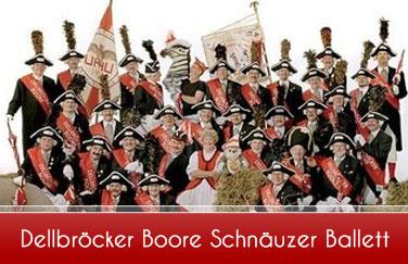 Dellbröcke-Boore-Schnäuzer-Ballett