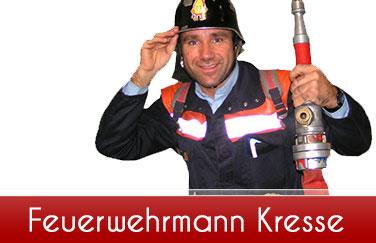 Feuerwehrmann-Kresse