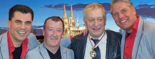 Dieter Steudter übergibt das Booking an die Band