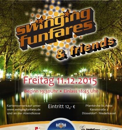 Weihnachtskonzert Swinging Funfares & Friends | 11.12.2015
