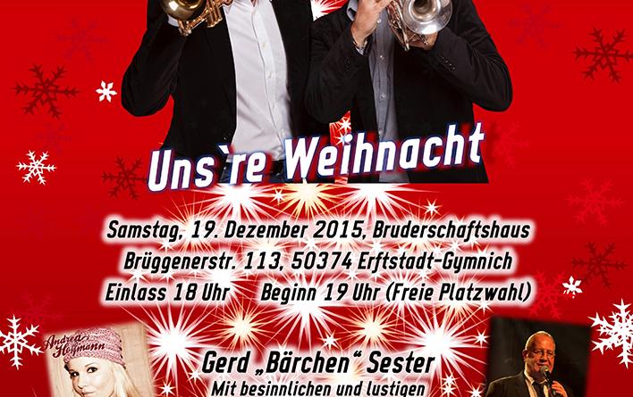 Die Jungen Trompeter – Uns`re Weihnacht